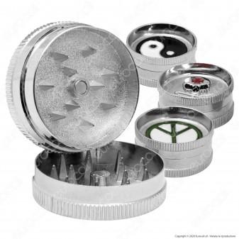 Grinder Mini Tritatabacco 2 Parti in Metallo