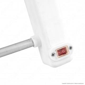 [EBAY] Ener-J Termoarredo Radiatore Scaldasalviette Elettrico 65W Bianco 5 Barre Alluminio - mod. IH1020