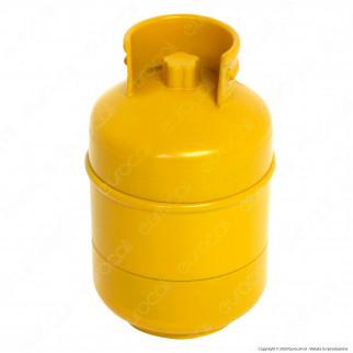 Grinder Tritatabacco 3 Parti in Metallo - Bombola del Gas
