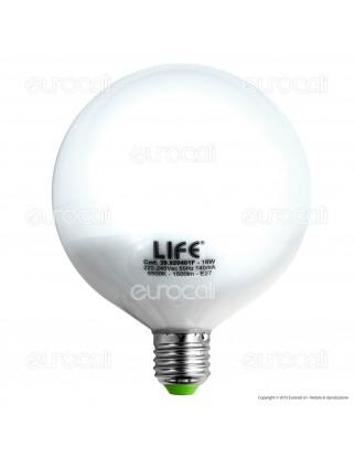 Life Serie GF Lampadina LED E27 16W Globo G120