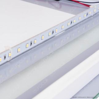 V-Tac VT-8505 Lampada LED a Specchio Rettangolare da Parete 17W con Anti Appannamento - SKU 40441