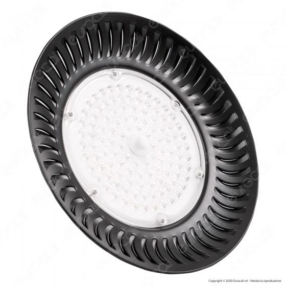 Sure Energy Lampada Industriale LED Ufo Shape 100W SMD 90° High Bay - mod. T331