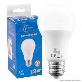 Sure Energy Lampadina LED E27 12W Bulb A60 - mod. T545 / T544 / T543