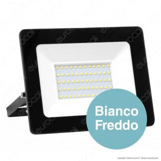 Sure Energy Faro LED SMD 100W IP65 Ultrasottile Colore Nero - mod. T210