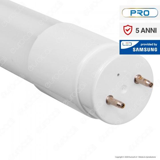 V-Tac PRO VT-122 SMD Tubo LED Nano Plastic T8 G13 18W Chip Samsung Lampadina 120cm - SKU 688 / 672 / 673