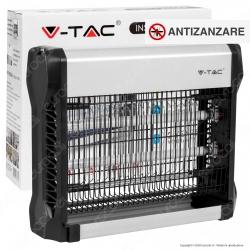 V-Tac VT-3216 Zanzariera Elettrica Insect Killer Lampada UV 16W Luce Blu Attira ed Elimina Insetti - SKU 11179