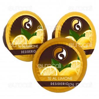 10 Capsule Baciato Caffè Desiderio Gusto Tè al Limone Cialde Compatibili Lavazza A Modo Mio