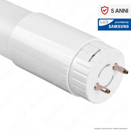 V-Tac PRO VT-062 SMD Tubo LED Nano Plastic T8 G13 10W Ruotabile Chip Samsung Lampadina 60cm - SKU 798 / 686 / 687
