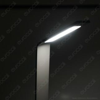 V-Tac VT-896 Lampada LED da Giardino 7W in Alluminio con Fissaggio a Terra IP54 Lampione 805mm - SKU 8681