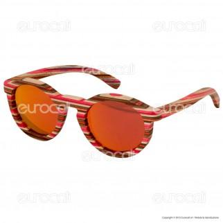Northweek in Legno Timber Mod. 09 - Occhiali da Sole con Lenti Polarizzate