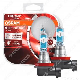 Osram Night Breaker Laser 35W - 2 Lampadine H8