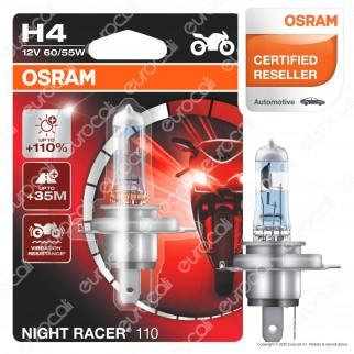 Osram Night Racer 110 per Moto 60/55W - Lampadina H4