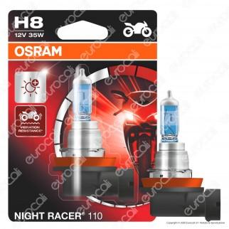 Osram Night Racer 110 per Moto 35W - Lampadina H8