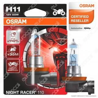 Osram Night Racer 110 per Moto 55W - Lampadina H11
