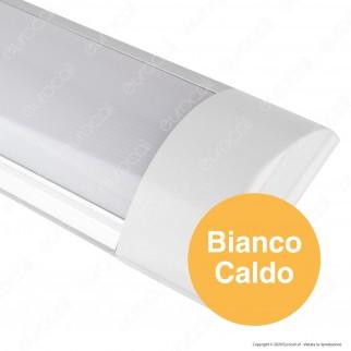 V-Tac VT-8013 Tubo LED Prismatico Plafoniera 10W Lampadina 30cm - SKU 4987 / 4988 / 4989