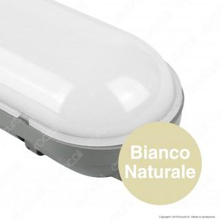 V-Tac VT-1550 Tubo LED Plafoniera 48W Lampadina 150cm Impermeabile con Kit di Emergenza - SKU 6446 / 6447