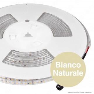 V-Tac VT-2835 Striscia LED SMD 2835 7,2W/m 24V Monocolore 120 LED/metro IP65 - Bobina da 10 metri - SKU 2625 / 2626 / 2627