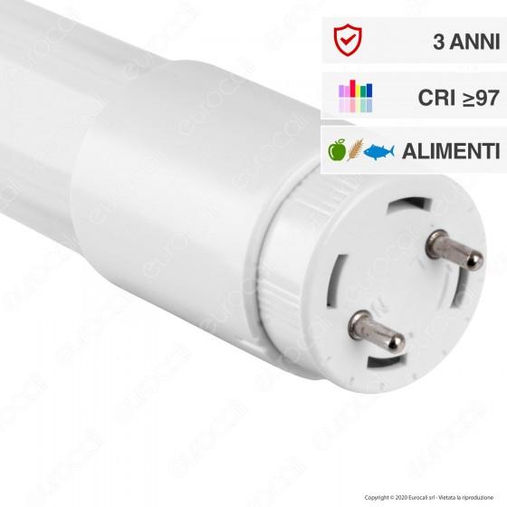 Wiva Tubo LED T8 Serie Pro G13 18W Lampadina 120cm CRI 97 - mod. 12100159