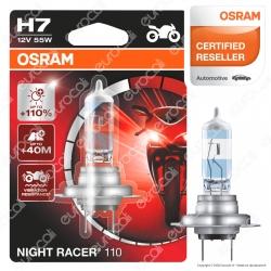 Osram Night Racer 110 per Moto 55W - Lampadina H7