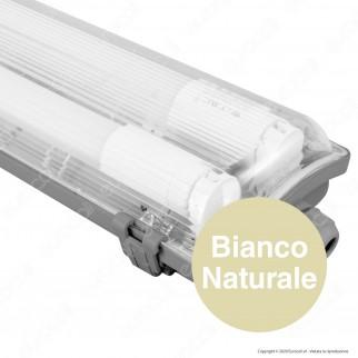 V-Tac PRO VT-6029 Plafoniera Doppia con Tubo LED T8 G13 2x10W Lampadina 60cm - SKU 6465 / 6466