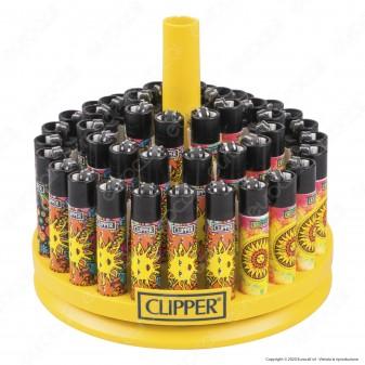 Clipper Large Fantasia Hippie 4 - Box da 48 Accendini