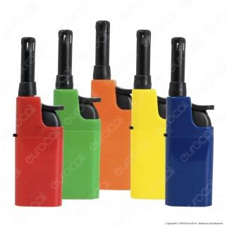 Atomic Mini BBQ Accendigas Multiuso Elettronico Ricaricabile Colori Assortiti - 5 Accendini