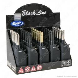 Atomic Mini BBQ Black Accendigas Multiuso Elettronico Ricaricabile Nero - Box da 25 Accendini