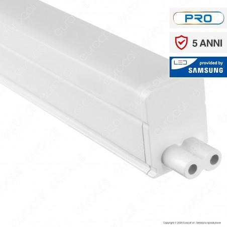V-Tac PRO VT-065 Tubo LED T5 Chip Samsung Plafoniera Raccordabile 7W Lampadina 60cm - SKU 692 / 693 / 694
