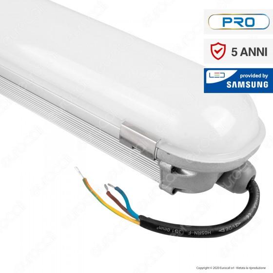 V-Tac VT-170 Tubo LED Plafoniera 70W Lampadina 150cm Impermeabile con Chip Samsung - SKU 676 / 677