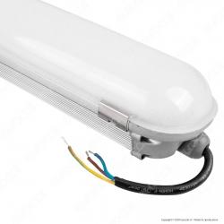 V-Tac VT-1573 Tubo LED Plafoniera 70W Lampadina 150cm Impermeabile - SKU 6266 / 6267