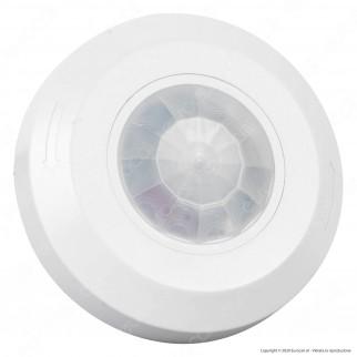 V-Tac VT-8091 Sensore di Movimento a Infrarossi PIR per Lampadine LED Colore Bianco - SKU 6606