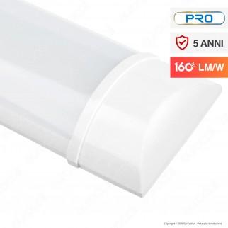 V-Tac PRO VT-8338 Tubo LED Prismatico Plafoniera 38W Lampadina 150cm - SKU 6493 / 6494 / 6495