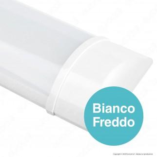 V-Tac PRO VT-8330 Tubo LED Prismatico Plafoniera 30W Lampadina 120cm - SKU 6490 / 6491 / 6492