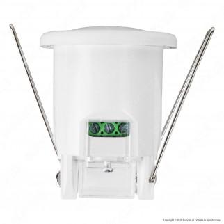 V-Tac VT-8092 Sensore di Movimento a Infrarossi PIR per Lampadine LED da Incasso Colore Bianco - SKU 6608
