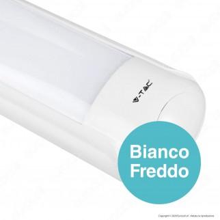 V-Tac VT-8011 Tubo LED Plafoniera 16W Lampadina 60cm - SKU 4974 / 4975 / 4976