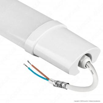 V-Tac VT-1549 Tubo LED Plafoniera S-Series 48W Lampadina 150cm Impermeabile - SKU 6467 / 6468