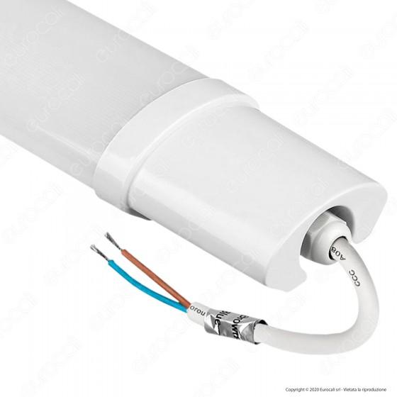 V-Tac VT-1518 Tubo LED Plafoniera S-Series 18W Lampadina 60cm Impermeabile - SKU 6472 / 6473