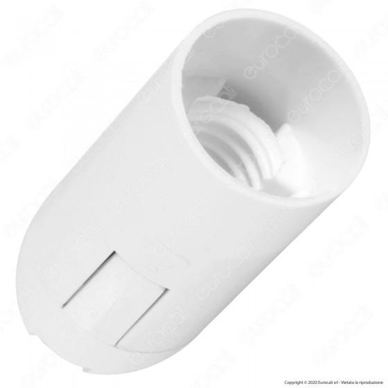 V-Tac Portalampada Termoplastico Colore Bianco per Lampadine E14 - SKU 8840