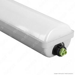 Wiva Tubo LED Plafoniera625W mod. Niagara Lampadina 150cm Impermeabile - mod. 51200037 / 51200038