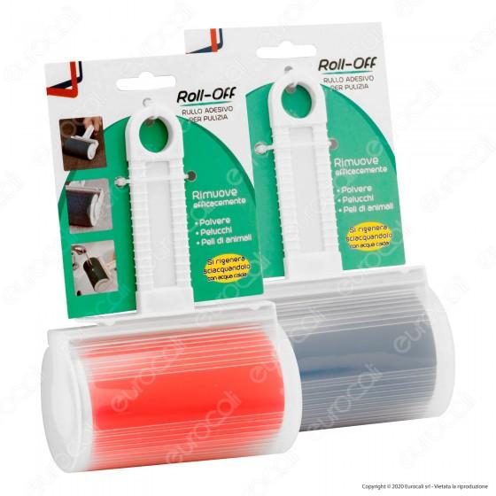 Intergross Roll-Off Rullo Adesivo per Pulizia e Rimozione Peli dai Tessuti - mod. IG12A