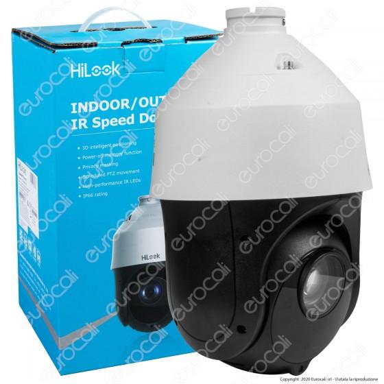 Hikvision HiLook IR Speed Dome Turbo HD Camera 2MP Telecamera di Sorveglianza Analogica 1080p IP66 - mod. PTZ-T4225I-D