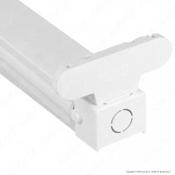 V-Tac VT-12021 Plafoniera Doppia per 2 Tubi LED T8 da 120cm - SKU 6055
