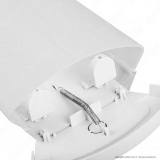 Kanlux MEBA 4LED Plafoniera Doppia per 2 Tubi LED T8 da 120cm - mod. 26964