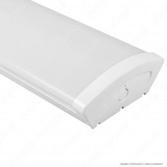 Kanlux MEBA 4LED Plafoniera Doppia per 2 Tubi LED T8 da 150cm - mod. 26965