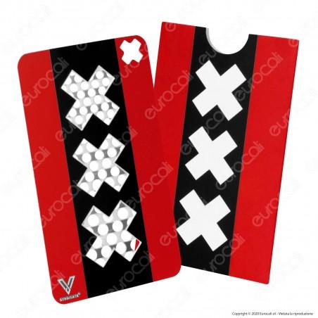 Grinder Card Formato Tessera Tritatabacco in Metallo - XXX