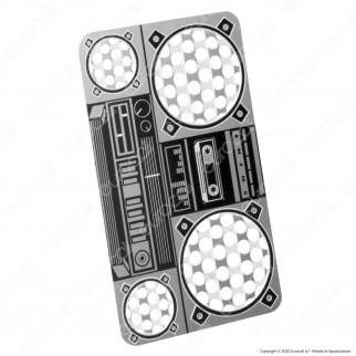 Grinder Card Formato Tessera Tritatabacco in Metallo - Boom Box