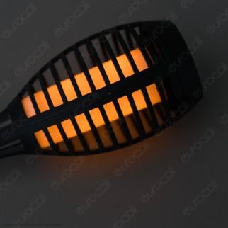 V-Tac VT-724 Super Saver Pack Confezione 4 Lanterne LED da Giardino IP44 Ricaricabili con Pannello Solare - SKU 8689