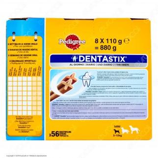 Pedigree Dentastix Small per l'igiene orale del cane - Confezione da 56 Stick