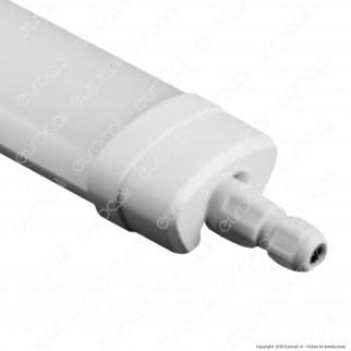 Sure Energy Tubo LED Plafoniera 18W Lampadina 60cm Impermeabile IP65 - mod. T193 / T192
