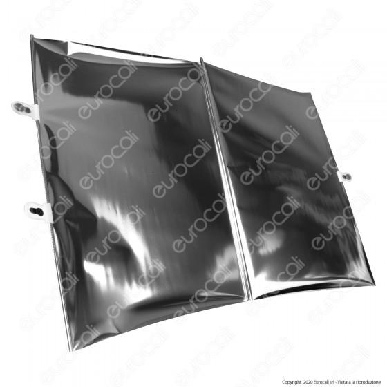 Intergross Eclisse Parasole Universale Avvolgibile Riflettente Semi-Trasparente con Ventose - mod. IGZ88
